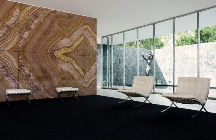 FAUTEUIL BARCELONE  Ludwig Mies van der Rohe  Social