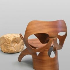 Wooden Skull Chair Forest Green Covers Vladi Rapaport A In The Shape Of Chair7 640x640