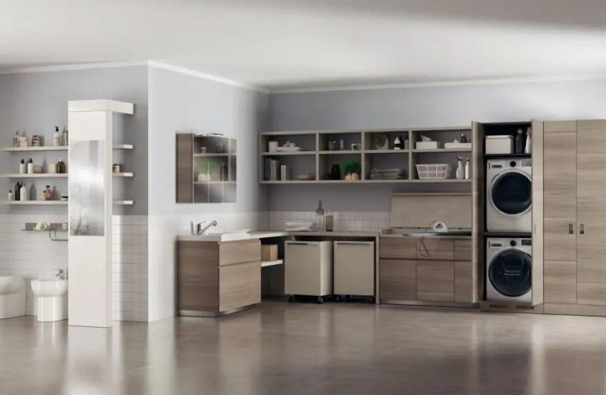Laundry Space lo spazio lavanderia secondo Scavolini