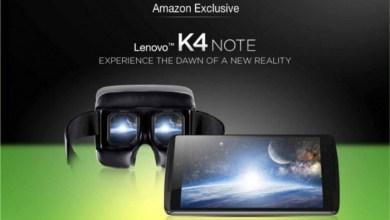 Lenovo K4 Note VR
