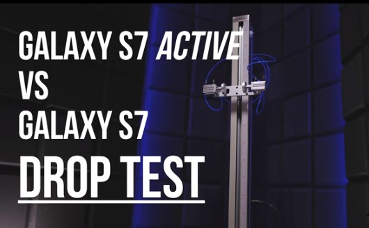 Samsung Galaxy S7 Active drop test