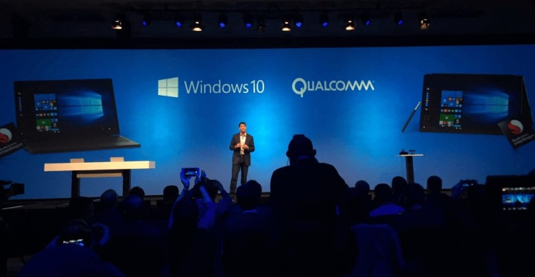Windows 10 Qualcomm partnership