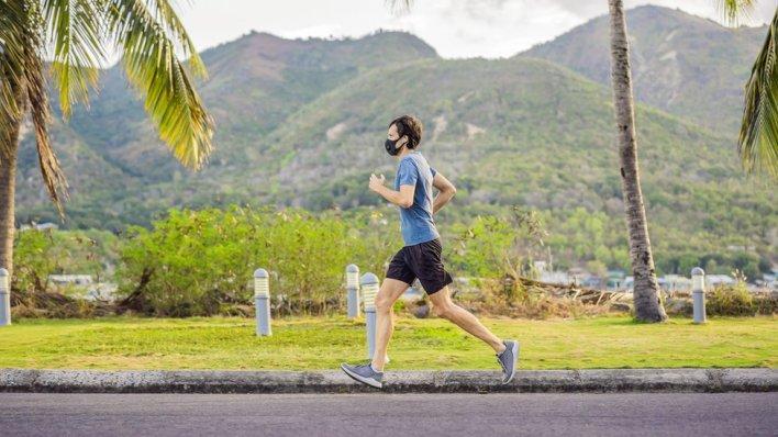 muškarac trči