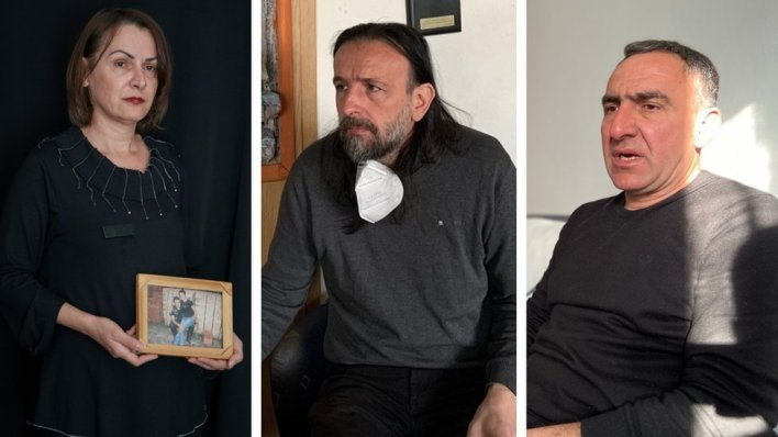Slobodanka Pakević, Živojin Rakočević i Goran Gujanica