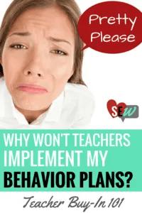 Behavior Plan Implementation