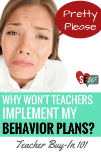 Behavior Plan Implementation