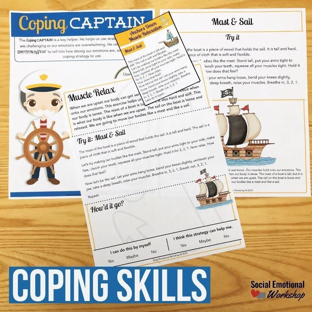 Help Your Students Develop Coping Skills - Social Emotional