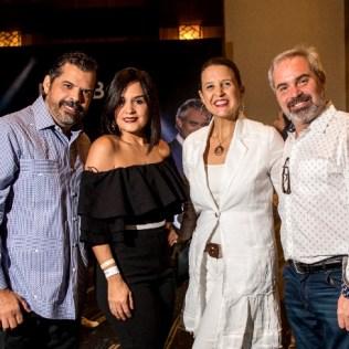 Jorge Luis Valenzuela, Liza Arzeno, Giselle Caputo y Ricardo Roque
