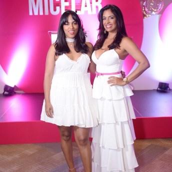 Airam Toribio y Lizbeth Santos