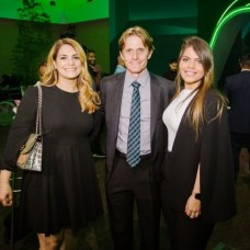 Patricia Díaz, Fernando Lorefice y Nicole Villanueva