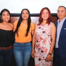 Merlyn Ceballo, Loidy Ceballo, Loida Ceballo y Roberto Ceballo