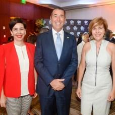Mónika Infante, Juan Manuel Martin de Oliva y Teresa Sullivan