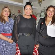 Alejandra Alejo, Ivanna Rodríguez y Yermi Disla