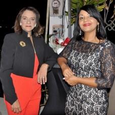 Altagracia Belliard y Pilar Pérez