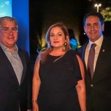 Kiko Cabrera, Pamela Álvarez y Wilfredo Baquero
