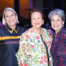 Virginia Esposito, Rita Paniagua y Eunice Lara