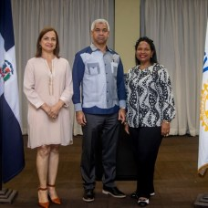 Marilis Pérez de Díaz, Héctor J. Díaz y Sofia Batista