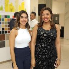 Lina Gutiérrez y Mabel Valoy