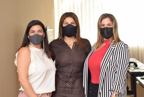 Virginia Richards, Reina Marin, Karen Heinsen