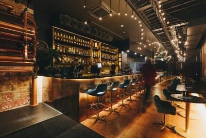 decadent lighting at diesel bar