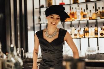 tayla kendall bar tender at lily blacks