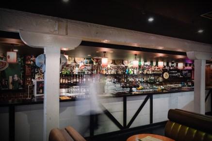 inside Melbourne irish bar the bottom end