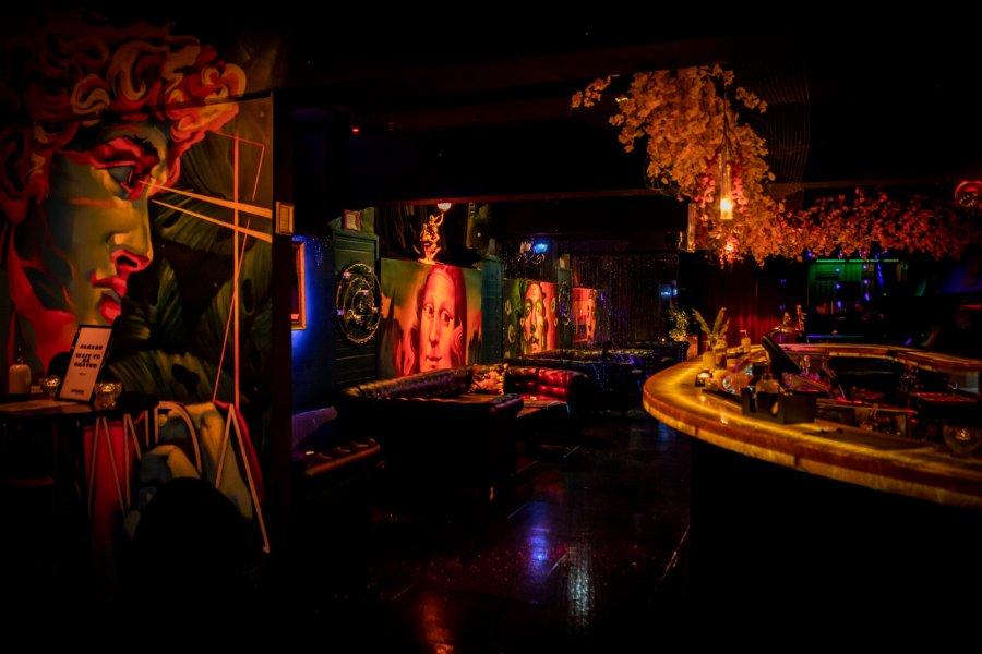 interior of basment nightclub of miranda bar on flinders lane