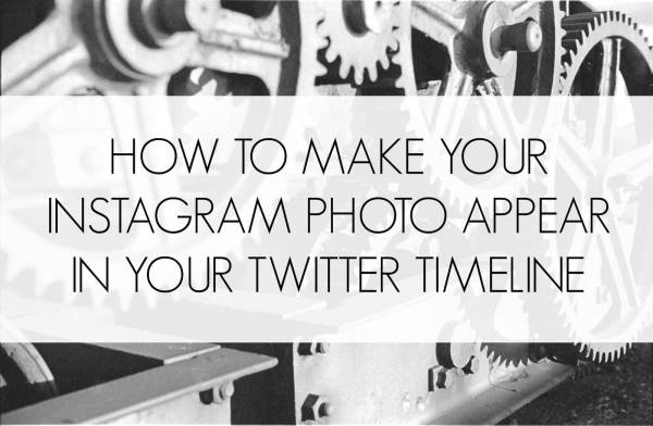 how to make your instagram photo appear in your twitter timeline