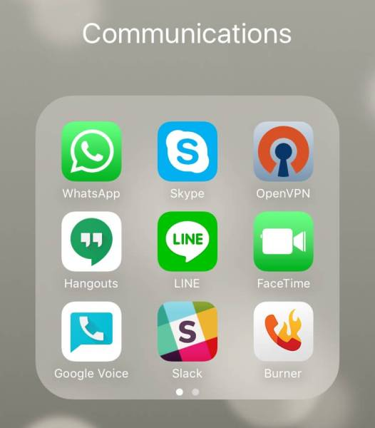 free mobile apps for communications