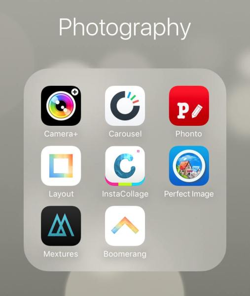 free mobile apps for photos and video