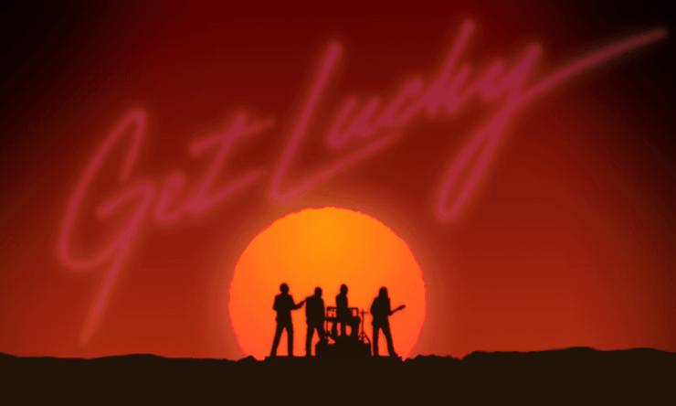 Get Lucky - Daft Punk feat Pharrel