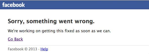 Problemas Facebook