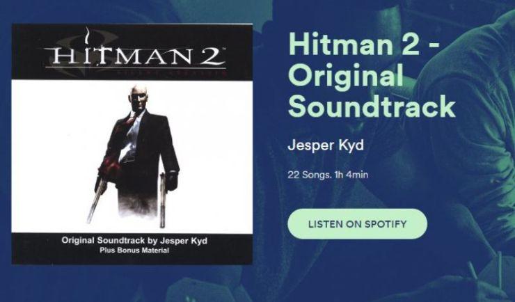 hitman 2 banda sonora