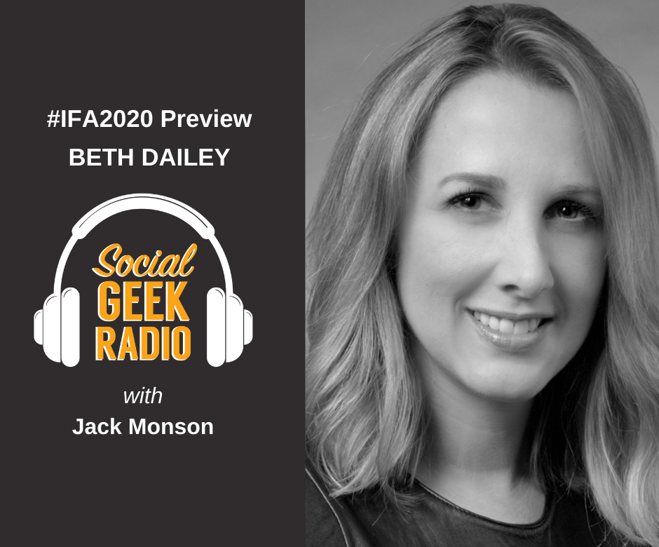IFA 2020 Preview: Beth Dailey