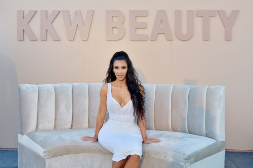 Kim Kardashian West attends KKW Beauty Fan Event at KKW Beauty