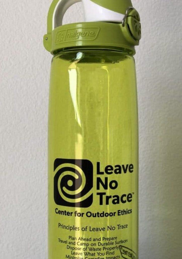 Leave No Trace Nalgene Water Bottle