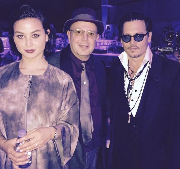 Sara Vonkienegger Edward Bass and Johnny Depp