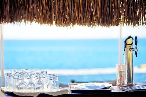 exquisite waterfront bars
