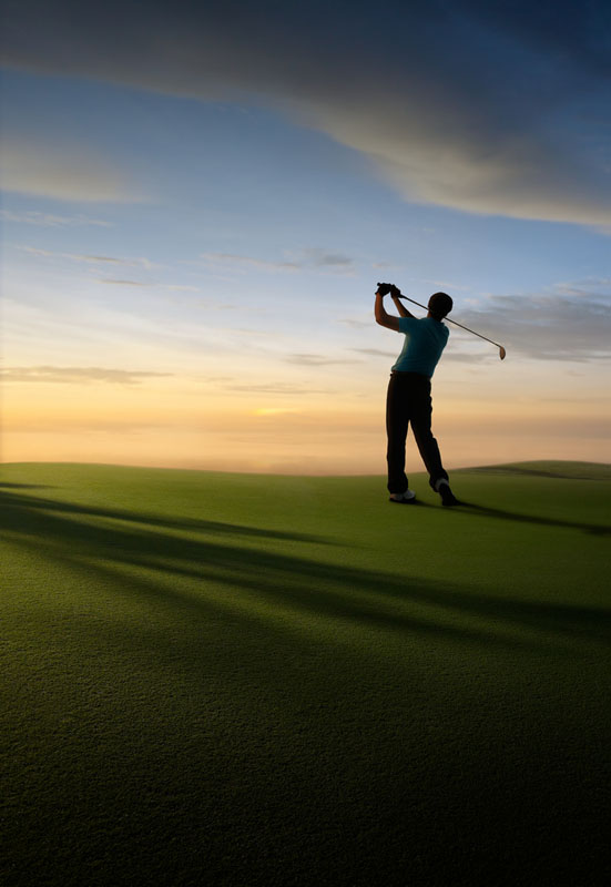 tee off on the world-famous course