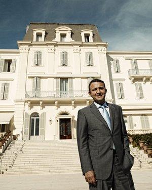 Philippe Perd at the Hotel du Cap