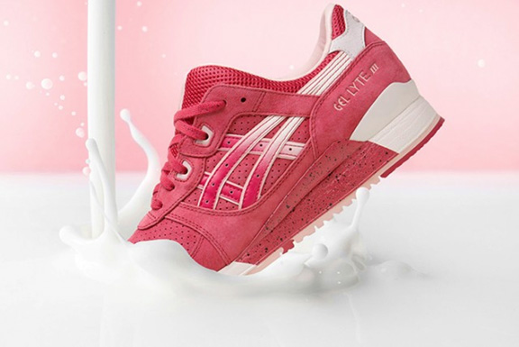b5cd0e029fa7 Asics Gel Lyte III Strawberry   Cream