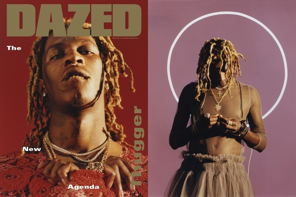 Young Thug Blurs Gender Roles with New Mixtape Cover for