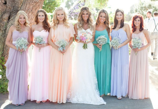 3 Mismatched Bridesmaid Dress Style Rules To Live By