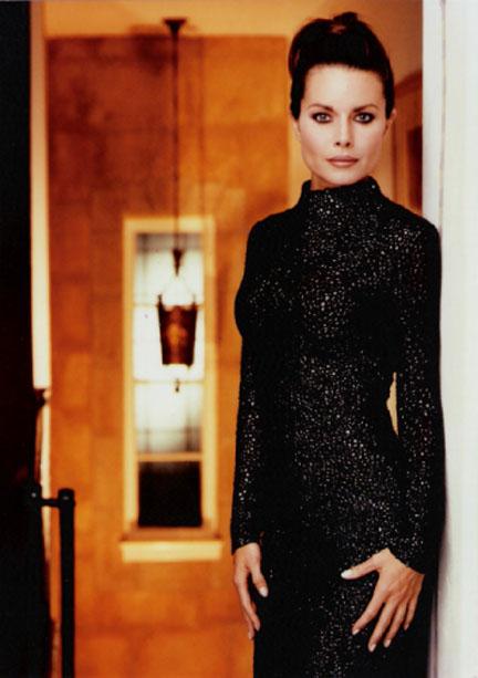 MK black dress shoot