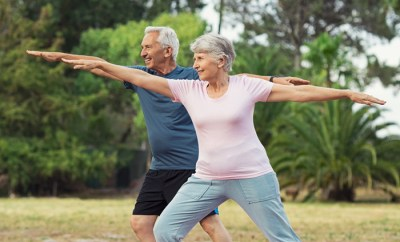 5 core exercises for seniors to improve health and fitness