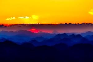 Austria sunset