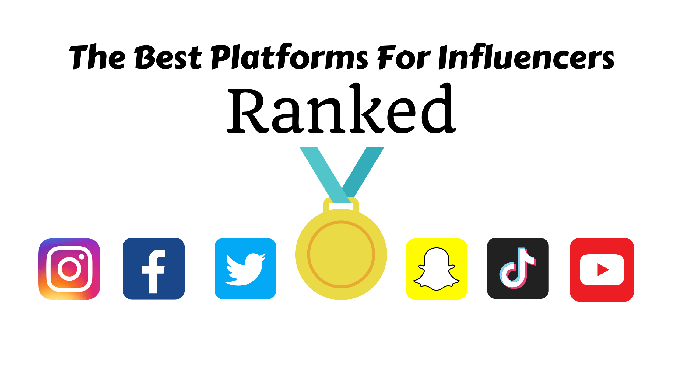 The Best Platforms For Influencers Ranked