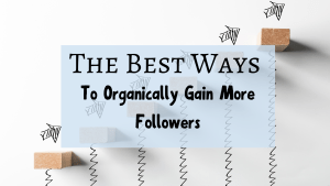 The Best Ways To Organically Gain More Followers