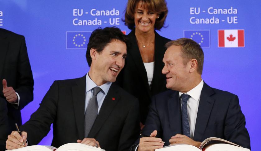 BELGIUM-EU-CANADA-POLITICS-CETA-TRADE