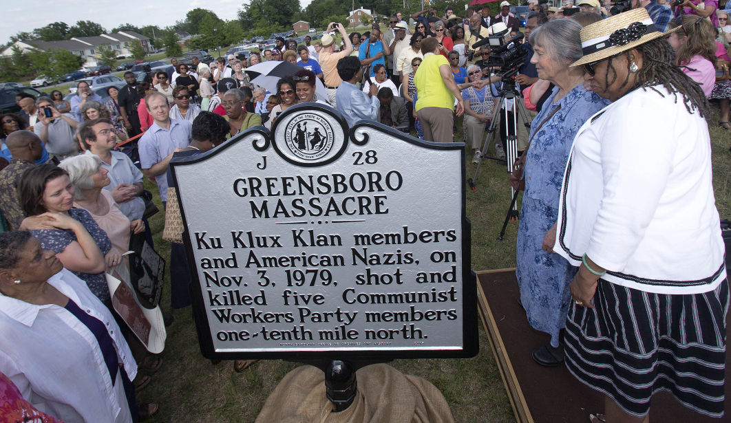 Sept. 2017 Greensboro marker
